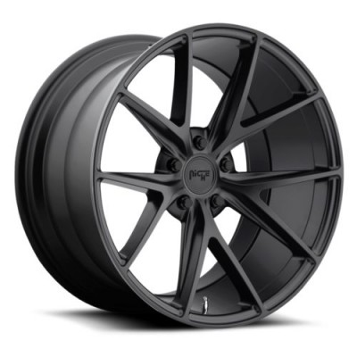 NICHE Misano M117 Matte Black wheel | 20X9, 5x112, 66.6, 38 offset