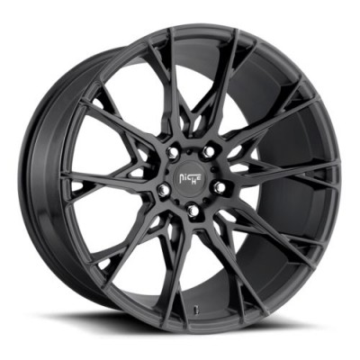 NICHE Staccato M183 Matte Black wheel (18X8.5, 5x120, 72.5, 35 offset)