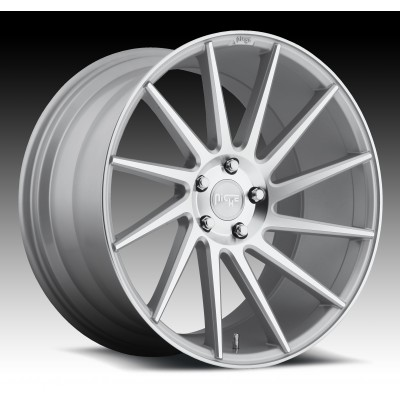 NICHE Surge M112 Machine Silver wheel (19X10, 5x120, 72.6, 40 offset)