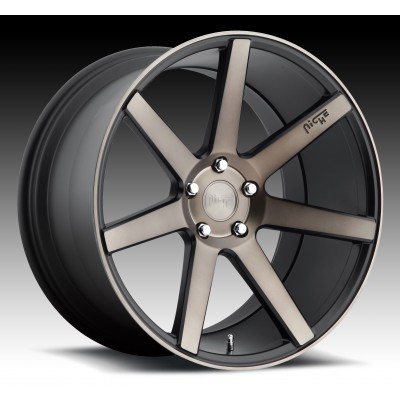 NICHE Verona M150 Machine Black wheel (17X8, 5x112, 66.6, 40 offset)