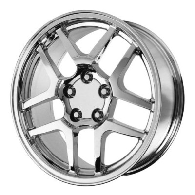 OE Creations PR105 Chrome wheel (17X9.5, 5x120.65, 70.70, 54 offset)