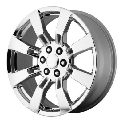 OE Creations PR144 Chrome wheel (22X9, 6x139.7, 78.30, 31 offset)
