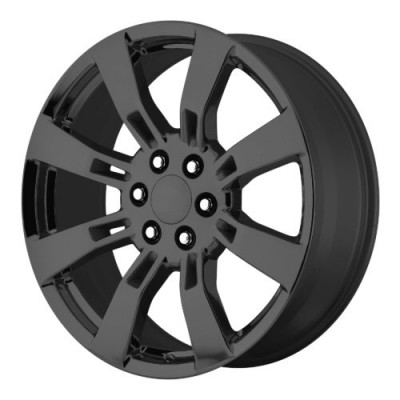 OE Creations PR144 Gloss Black wheel (24X10, 6x139.7, 78.30, 31 offset)