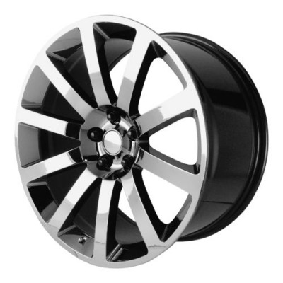 OE Creations PR146 Chrome Black wheel (20X9, 5x115, 71.50, 26 offset)