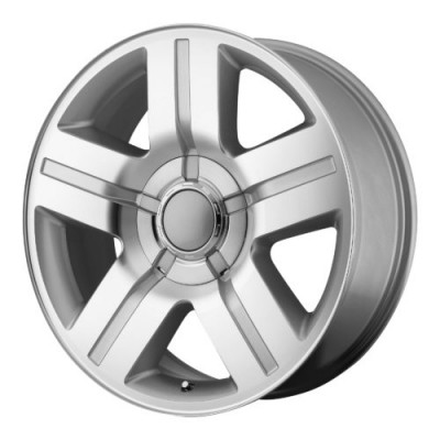 OE Creations PR147 Machine Silver wheel (22X9, 6x139.7, 78.30, 31 offset)