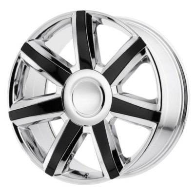 OE Creations PR164 Chrome wheel (22X9, 6x139.7, 78.30, 24 offset)