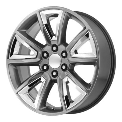 OE Creations PR168 Silver wheel (22X9, 6x139.7, 78.30, 24 offset)