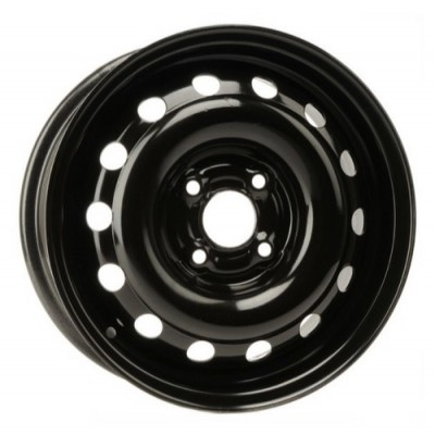 PMC Steel Wheel Black wheel | 14X5.5, 4x100, 57.1, 45 offset