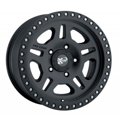 Pro Comp  Series 7028 Matte Black wheel (16X8, 5x114.3, 130.1, 0 offset)