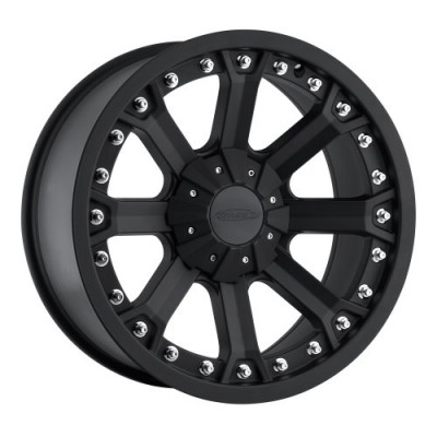 Pro Comp Series 33 Matte Black wheel (17X9, 5x139.7, 130.1, -6 offset)