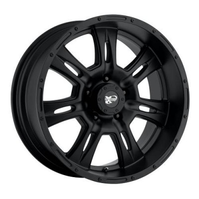 Pro Comp Series 7047 Matte Black wheel (17X9, 8x170, 130.1, -6 offset)