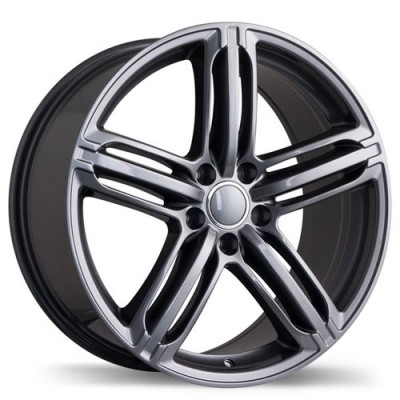 Replika Wheels R133A Gun Metal wheel (18X8.5, 5x112, 66.5, 35 offset)