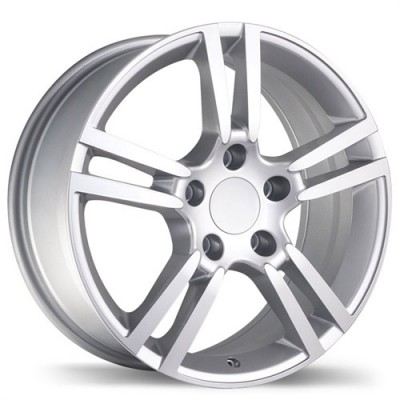 Replika Wheels R140A Hyper Silver wheel (18X8, 5x130, 71.6, 50 offset)