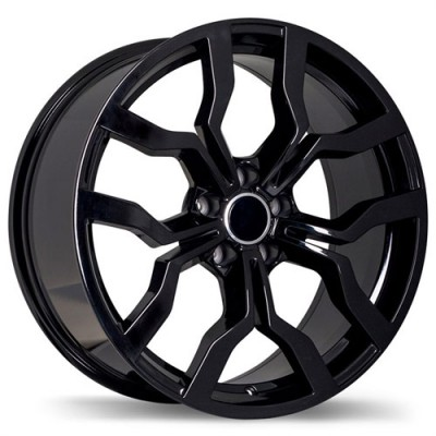 Replika Wheels R152 Black wheel (17X7.5, 5x112, 57.1, 45 offset)