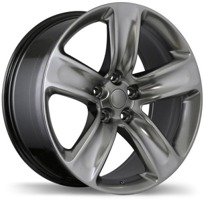 Replika Wheels R176 Satin Black wheel (20X9, 5x127, 71.5, 34 offset)