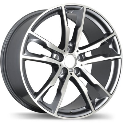 Replika R184 Machine Gunmetal wheel (20X10, 5x120, 74.1, 40 offset)