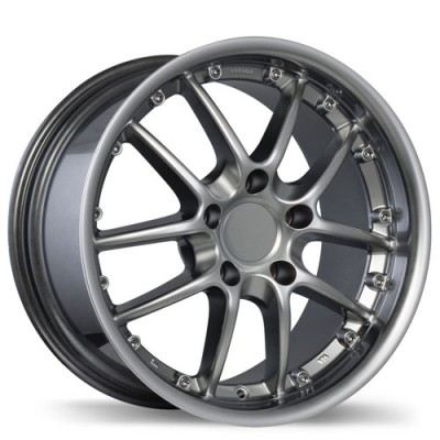 Fastwheels R68 Platinum wheel (18X8.5, 5x130, 71.6, 52 offset)