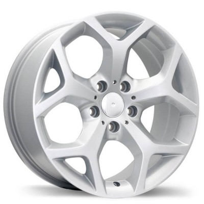 Replika R131C Hyper Silver wheel (18X8.5, 5x120, 74.1, 46 offset)