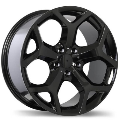 Replika R131C Gloss Black wheel (18X8.5, 5x120, 74.1, 46 offset)