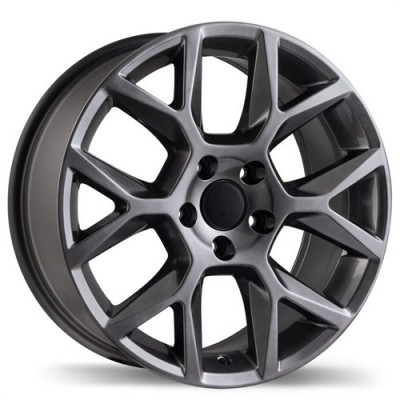 Replika R151A Gun Metal wheel (17X7.5, 5x112, 57.1, 45 offset)