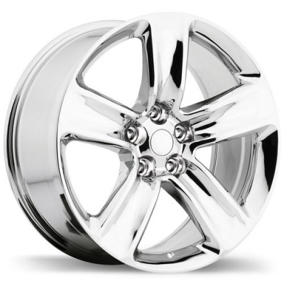 Replika R176 Chrome wheel (20X9, 5x127, 71.5, 34 offset)