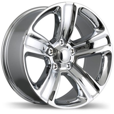 Replika R177A Chrome wheel (17X8, 5x139.7, 77.8, 10 offset)