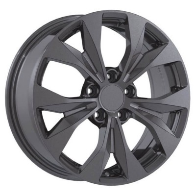 Replika R192 Gun Metal wheel | 17X7, 5x114.3, 64.1, 45 offset