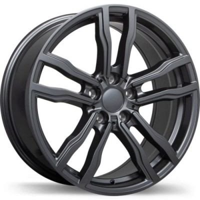 Replika R200 Gun Metal wheel (18X8.5, 5x120, 74.1, 42 offset)