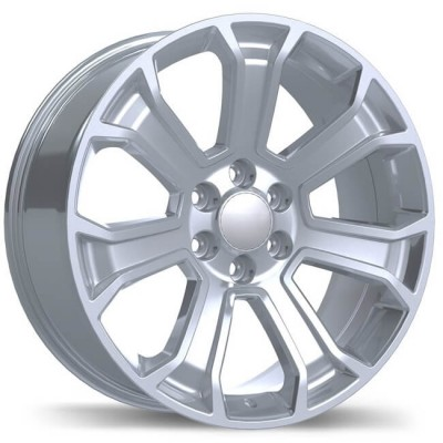 Replika R204 Hyper Silver wheel (20X9, 6x139.7, 78.1, 24 offset)