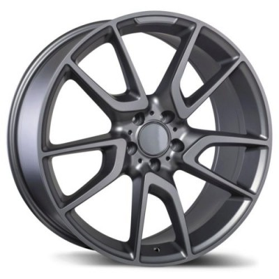 Replika Wheels R207 Matte Gun Metal wheel (19X8.5, 5x112, 66.5, 40 offset)