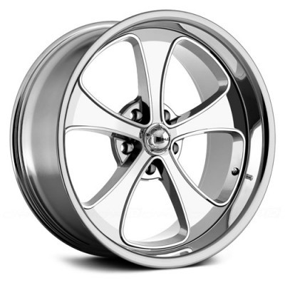 Ridler 645 Chrome wheel (20X10, 5x120.65, 83.82, 0 offset)