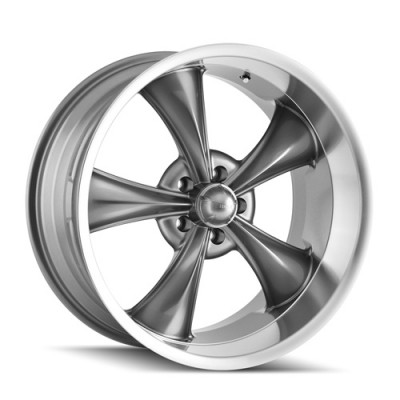 Ridler 695 Machine Grey wheel (20X10, 5x120, 72.62, 38 offset)