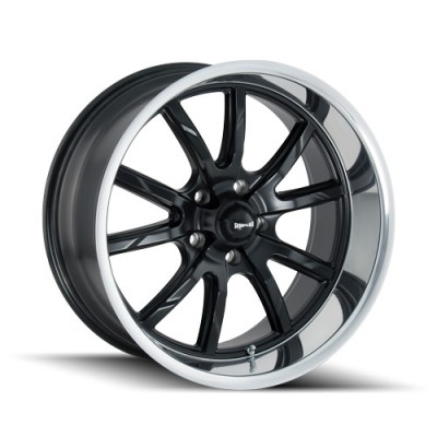Ridler 650 Matte Black wheel (20X10, 5x120, 72.62, 38 offset)