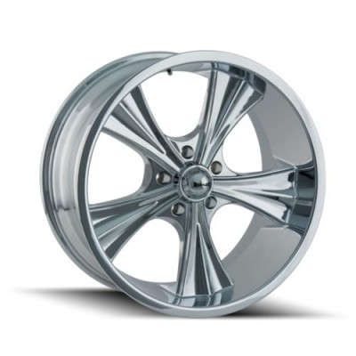 Ridler 651 Chrome wheel (20X10, 5x127, 83.82, 0 offset)