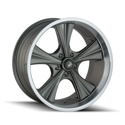 Ridler 651 Grey wheel (20X10, 5x114.3, 83.82, 0 offset)