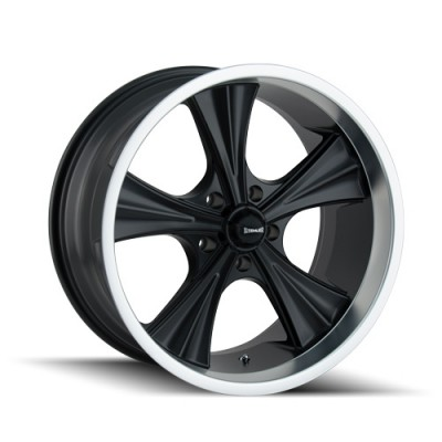Ridler 651 Matt Black Machine wheel (20X10, 5x114.3, 83.82, 0 offset)