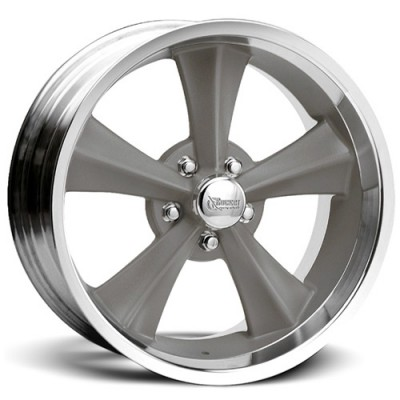 Rocket Wheels Booster Machine Grey wheel (17X8, 5x114.3, 78.1, 0 offset)