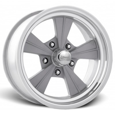 Rocket Wheels Strike Machine Silver wheel (15X4.5, 5x120.7, 78.1, -25 offset)