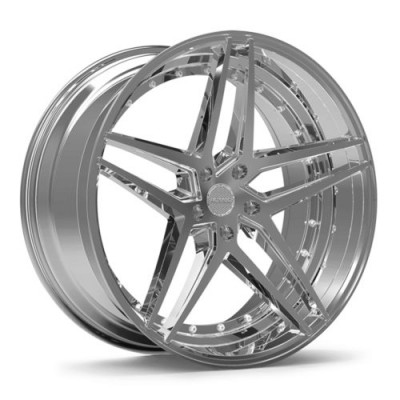 ROSSO REACTIV Chrome wheel (20X10, 5x114.3, 73.1, 40 offset)