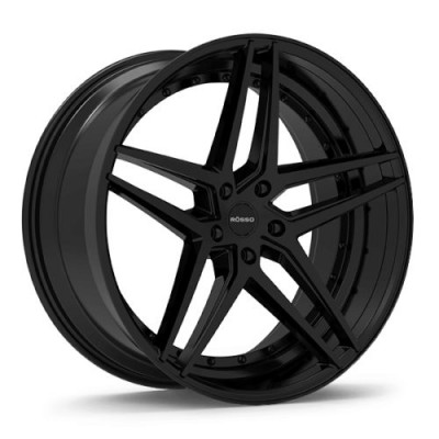 ROSSO REACTIV Black wheel (20X10, 5x114.3, 73.1, 25 offset)