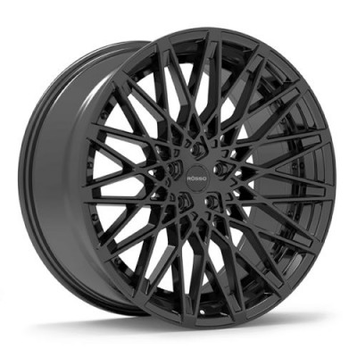 ROSSO SKISM Black wheel (20X10, 5x115, 73.1, 38 offset)