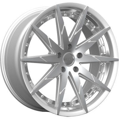 ROSSO ZEN Machine Silver wheel (20X10, 5x114.3, 73.1, 25 offset)
