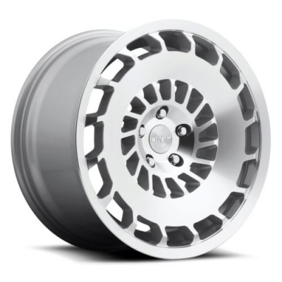 Rotiform CCV R135 Machine Silver wheel (18X8.5, 5x112, 66.5, 35 offset)