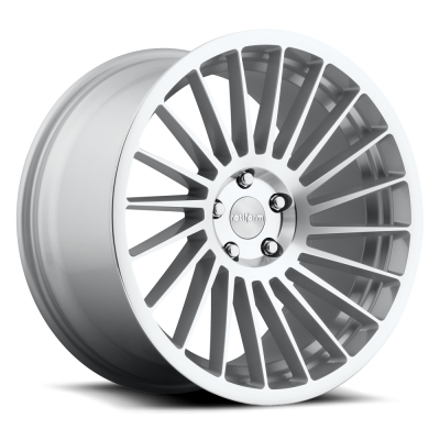 Rotiform IND-T R125 Machine Silver wheel (18X8.5, 5x120, 72.6, 45 offset)