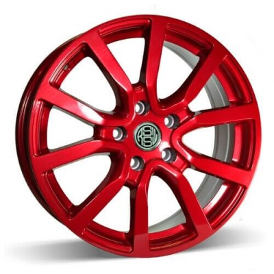 RSSW Mayfair Red wheel (16X6.5, 5x114.3, 67.1, 45 offset)
