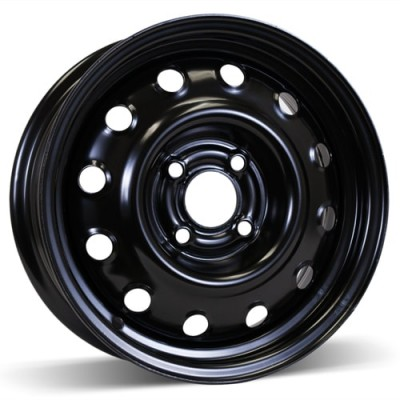 RSSW Steel Wheel Black wheel (14X5.5, 4x100, 59.1, 44.5 offset)