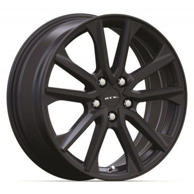 RTX Wheels Arai Black wheel (18X7.5, 5x114.3, 67.1, 45 offset)