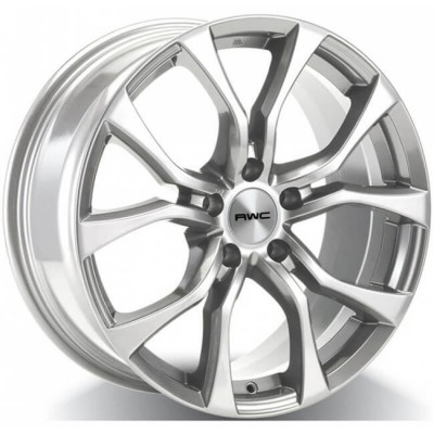 Rwc AC80 Silver wheel (17X7.5, 5x120, 64.1, 45 offset)