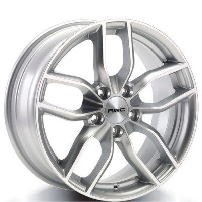 Rwc AD93 Silver wheel (17X7.5, 5x112, 57.1, 42 offset)