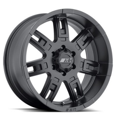 Mickey Tompson, SideBiter II, 15X8, 5x114.3, (offset-deport)-22, Noir Satine/Satin Black